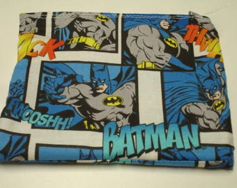 Batman Zippered Pouch READY TO SHIP On Sale