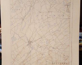 1940 Canton, NY, Topography Map