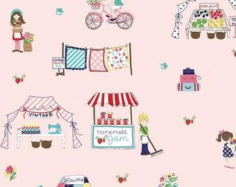 ON SALE Tasha Noel Vintage Market Main Pink