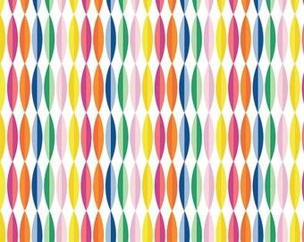 Happy Streamers Fabric
