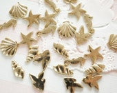 10 pcs Resin inclusions / inserts / supplies  (5-10mm) Sea animal AA051