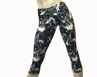 SALE XS/S - Yoga Pants - Workout Clothes - Hot Yoga - Fitness - Low Rise - Capri - Plus Size Workout - SXY Fitness