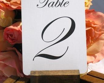 Boho Wedding Table Number Holder + Rustic Wedding Table Number Holder (Set of 10) ON SALE