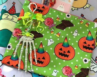 Halloween Party All Over Print Clutch Pencil Case Cosmetic Bag