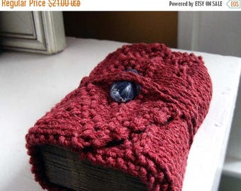 Summer Solstice Sale Tarot wrap / tarot keeper / tarot travel case / tarot case / tarot card mat / brick red / tarot clutch / tarot deck hol