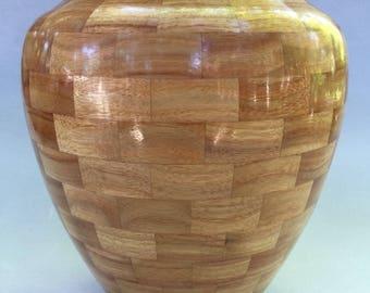 Canary Wood Vase