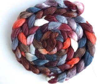 Merino/ Superwash Merino/ Silk Roving - Moving in Circles