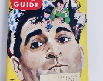 Vintage TV Guide Magazine Danny Thomas May 1958 * mint