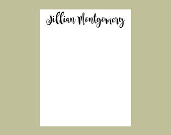 Personalized Notepad, Teacher Notes, teacher gift, Teacher notepad