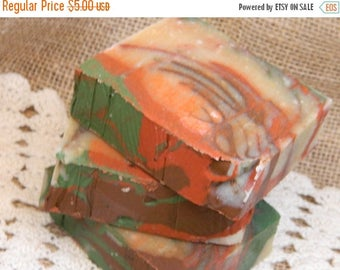 SALE Apples and Oak Goats Milk Soap Cold Processed Soap Handmade Soap