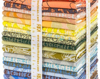 Sale! Gleaned 24 FAT EIGHTH Bundle Carolyn Friedlander Kaufman Fabrics