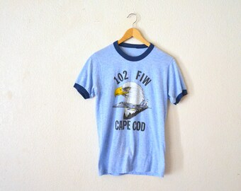 "80""s Cape Cod Ringer T-Shirt"