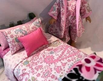 BROOKLYN II - 9-Piece Doll Bedding and P.J. Set