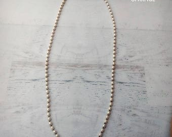 Long Pearl Necklace - Freshwater Pearl Necklace - Scottish Pearl Necklace - Opera Length Necklace - Pearl - Pearls - Wedding - READY to SHIP