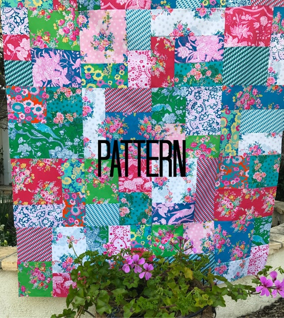 Random Patchwork Pattern