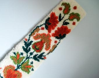 Vintage wall hanging - folk pattern