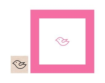 Mini Bird Rubber Stamp