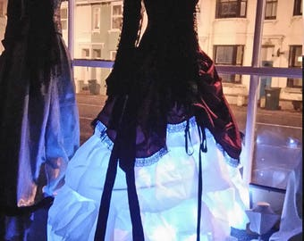 Custom Light up hoop skirt only