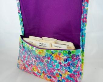 Coupon Organizer, Coupon Holder, Coupon Wallet, Coupon Binder, Watercolor Floral, Receipt Holder