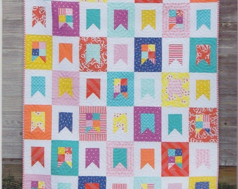 Cluck Cluck Sew Celebrate Quilt Pattern