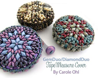 GemDuo/DiamondDuo Tape Cover Tutorial by Carole Ohl