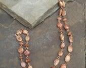 Summer Days - Sunstone & Copper Necklace