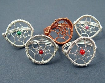 Sale, 15% Off - Dreamcatcher Ring Jewelry Making Tutorial