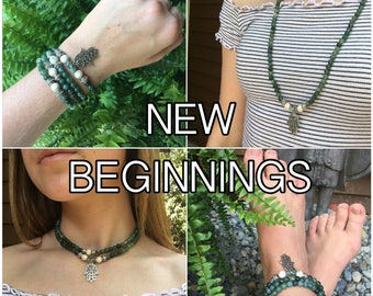 NEW BEGINNINGS - Mala Beads