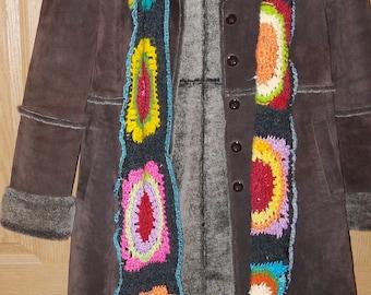 Express Long Jacket Suede Coat