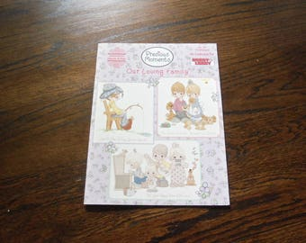 Designs By Gloria and Pat Precious Moments Our Loving Family HL 20 13 Designs Cross Stitch Book