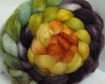 BFL/Cashmere/Tussah 50/25/25 Roving Combed Top - 5oz - Sunset from the Pier 1