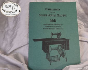 Singer 66K Treadle Manual