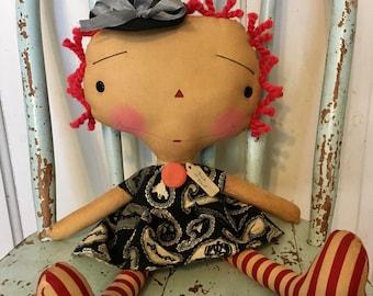 Trick or treat Raggedy Annie - Raggedy Ann - Halloween - fall - Ragdolls - Raggedy Annie -
