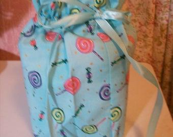 Lollipops and Candy Tissue Box/Toilet Paper Cover