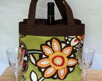 6 Pocket Bag For Wine Bottles, Soccer, Baseball, Lacrosse, Crafts and the Beach