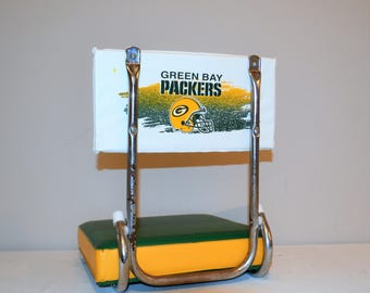 Vintage Green Bay Packers Stadium Chair / Display Piece