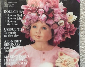 Doll Crafter magazine; July 1998 issue