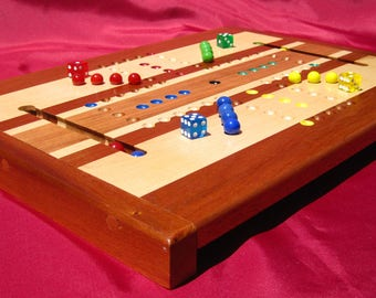 Aggravation Game Board Aggravation Board Aggravation Game Marble Game Dice Game Wooden Family Game Board Traditional Game Child's Board Game