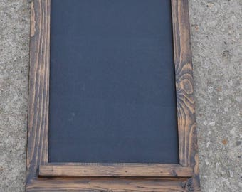 Chalkboard with Mini Silverware Key Hooks