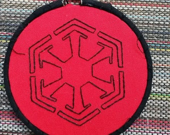 Sith Empire hand embroidery- 4 inch