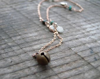 Bohemian Bell Necklace