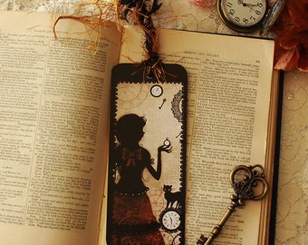 Bookmark featuring Miss Shadow - Timeless