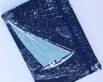 Kindle Paperwhite Case, Nook Glowlight Case, all sizes, Sailing Away Tablet hardcover Cover