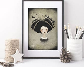 10% Off - Summer SALE As She Carries 18/100 - Deluxe Edition Print