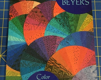 Jinny Beyer's Color Confidence for Quilters, Quilt pattern book, great book on use of color in quilting, destash