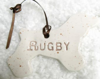 Personalized Dog Ornament 39 Breeds Available
