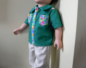 Pants and shirt for 18 inch doll