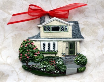 Custom listing for ktwilliams41 -two Custom House Ornaments