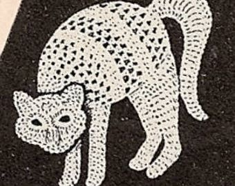 Cat Applique Crochet Pattern 723009