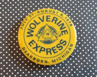 Railroad Memorabilia Wolverine Express 1978 Dearborn Michigan North Central Begins